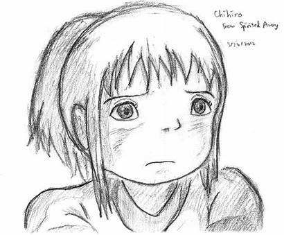 Spirited Away Chihiro Drawing Ended Watching Comment