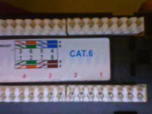 Cat6 Patch Panel Wiring Help