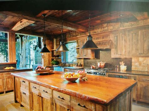 cabin kitchen cabin ideas pinterest