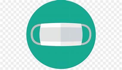 Mask Masker Medical Clipart Gambar Cartoon Surgical