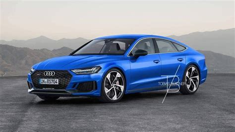 2019 Audi Rs7 Rendered, Could Come With 700hp Hybrid