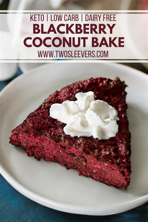 Blackberries Coconut Almond by Blackberry Coconut Bake Recipe Low Carb Recipes