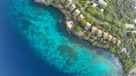 curazao desde  drone  caribbean sea   drone dji phantom youtube