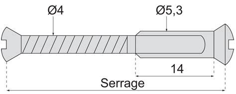 vis reliure pour poignee de porte quincaillerie vis reliure pour poignee de porte fer traditionnel vis et douille fendues