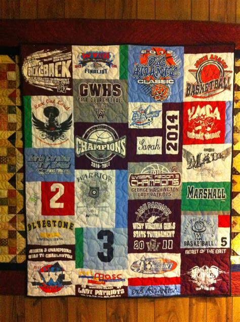katies quilts  crafts  gwhs basketball quilts