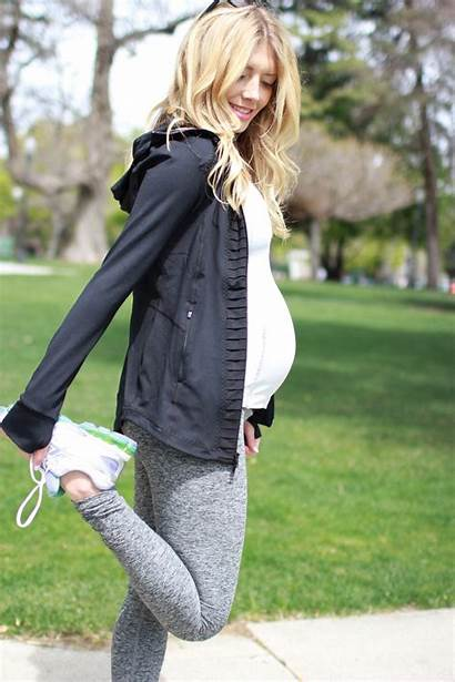 Maternity Outfits Clothes Workout Summer Fashionable Pregnancy