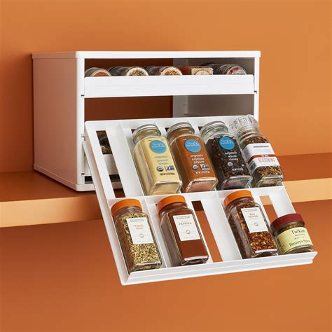 30 Spice Rack by Youcopia 174 Spicestack Chef S Edition 30 Bottle Cabinet