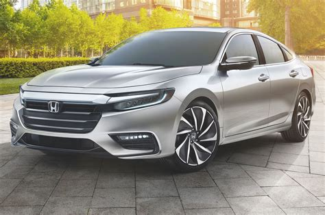 2019 Honda Insight Prototype First Look Trunk Sale