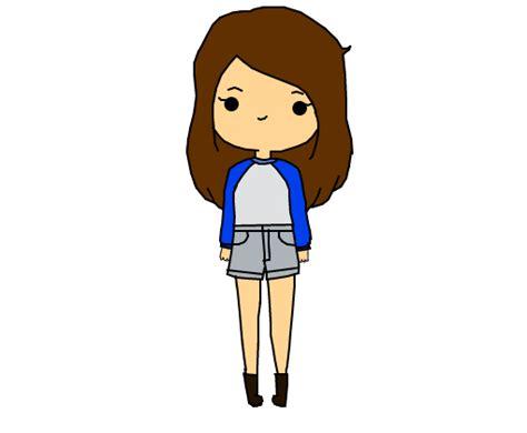 Menina Kawaiichibi  Desenho De Ctrlbia Gartic