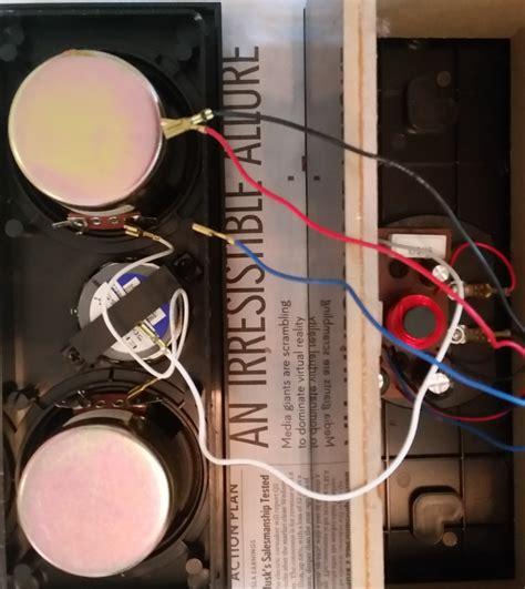 Energy Take Center Speaker Wiring Problem Home Theater