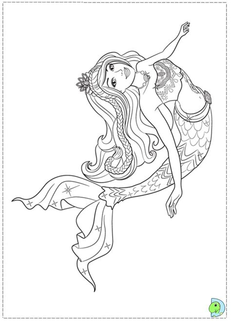 barbie   mermaid tale coloring pages az coloring pages