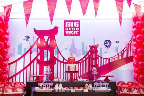 17 Best Images About Big Hero 6 Party Ideas On Pinterest