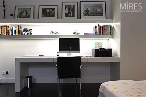 bureau design blanc chambre bureau en noir et blanc c0750 mires