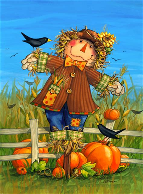 Fall Scarecrow Paintings