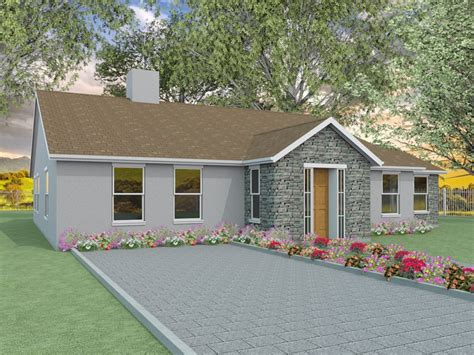 bedroom bungalow designs millstream houseplansdirect