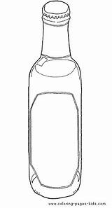 Coloring Bottle Pages Drink Water Printable Bottles Drinks Food Nature Sheets Template Templates Sheet Sketch Print Found sketch template