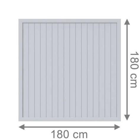 sichtschutzzaun kunststoff weiß 180x180 br 252 gmann sichtschutzzaun longlife riva rechteck grau 180 x 180 cm