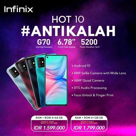 Spesifikasi Dan Harga Hp Infinix Hot 10