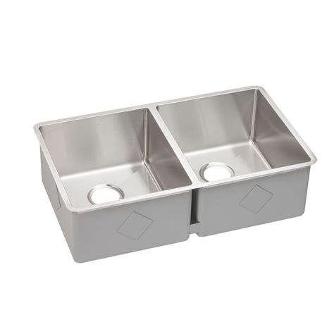 elkay undermount kitchen sinks elkay crosstown undermount stainless steel 32 in 7052