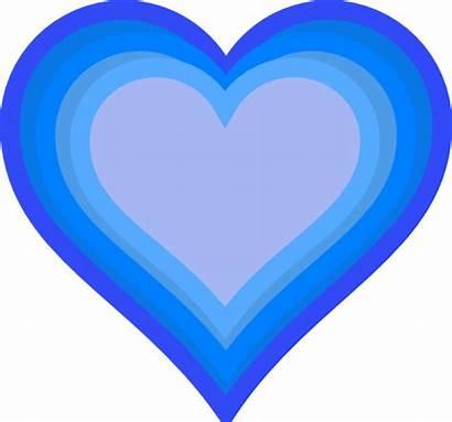 Heart Clip Clipart Cartoon Blueheart Cliparts Hearts