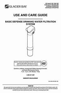 Glacier Bay Hdgffs4 Use And Care Manual