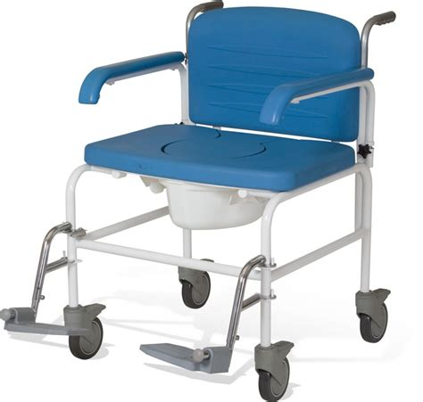 Commode Chair Uk by Bariatric Mobile Shower Commode Chair Living Made Easy