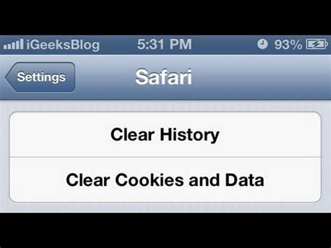 how to clear cookies on iphone bw snapchat iphone 2015 best auto reviews