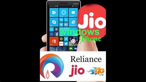 jio 4g in windows phone all 4g