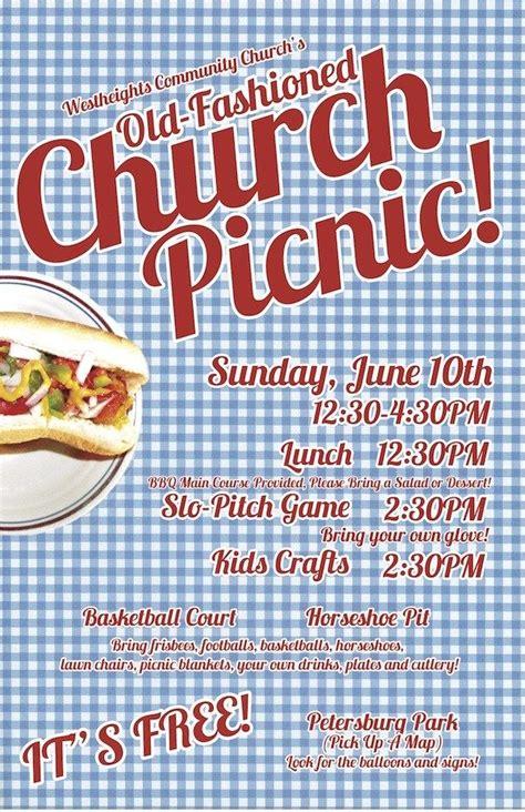 picnicsmall church picnic church fundraisers church