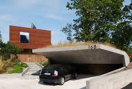Really Like This Open Car Garage Idea With Cantilevered Concrete Modern Garage Plans Modern Garage Design Ideas Design House Interior Pictures Plans With Garage Furthermore Modern House With Garage On Modern