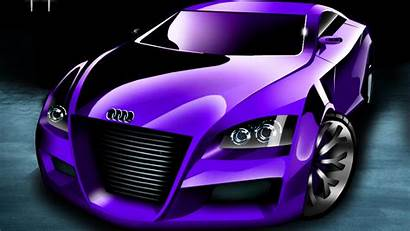 Exotic Wallpapers Purple Cars Fast Audi Hottest