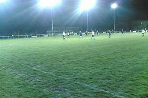 Anglesey football club s new floodlights include built in