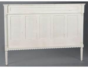 Tete De Lit Bois 180 : tete de lit en bois blanc 160 table de lit ~ Teatrodelosmanantiales.com Idées de Décoration