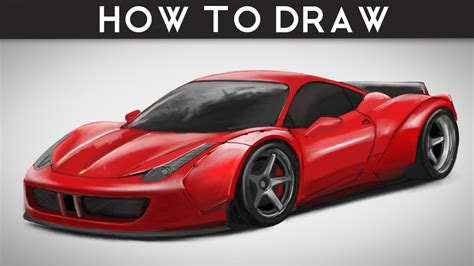 ferrari 458 sketch how to draw ferrari 458 italia libertywalk lb step by