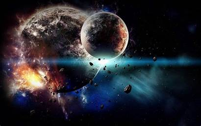 Planet Explosion Wallpapers Earth Space Explode Aesthetic