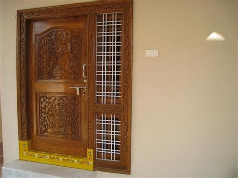 South Indian Main Door Designs Photos