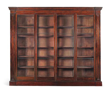 40 Cm Wide Bookcase by A George Iv Large Mahogany Museum Bookcase Circa 1825 40