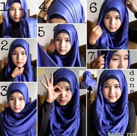 busana muslim trendy aneka tutorial hijab modern gaul   terbaru