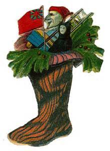Art Clip Victorian Vintage Christmas Die Cut
