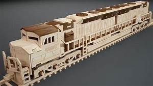 EMD Locomotive - Trains MakeCNC com