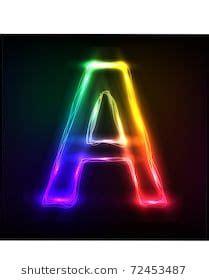 vector alphabet neon letter  beats wallpaper lettering alphabet wallpaper