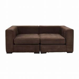 leahter loveseats buy With modular sectional sofa west elm