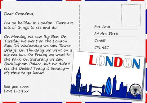 postcard  london learnenglish kids british council
