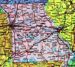Missouri State Highway Map