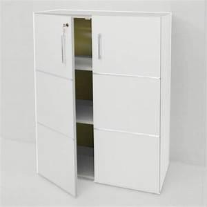 Meuble Bureau Rangement : meuble rangement dossier ~ Teatrodelosmanantiales.com Idées de Décoration
