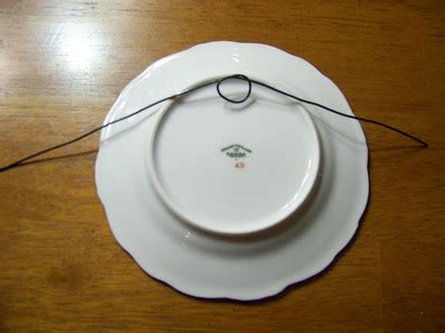 attempting   domestic  easy diy plate hangers