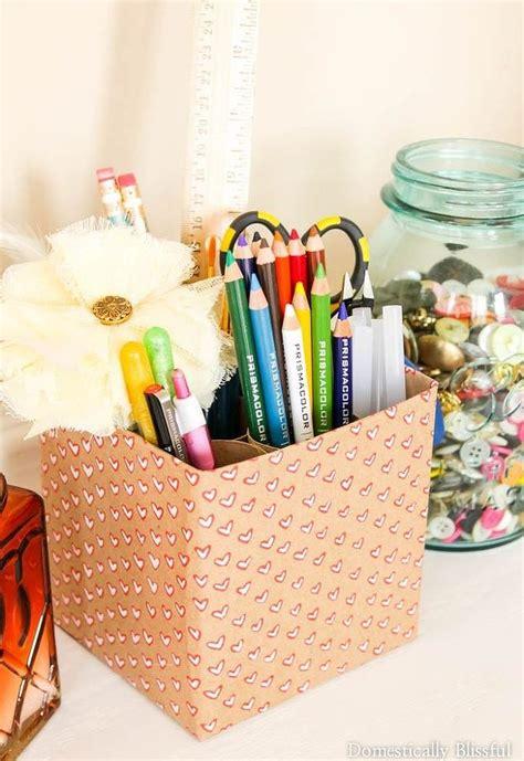 Craft Supply Holder Hometalk