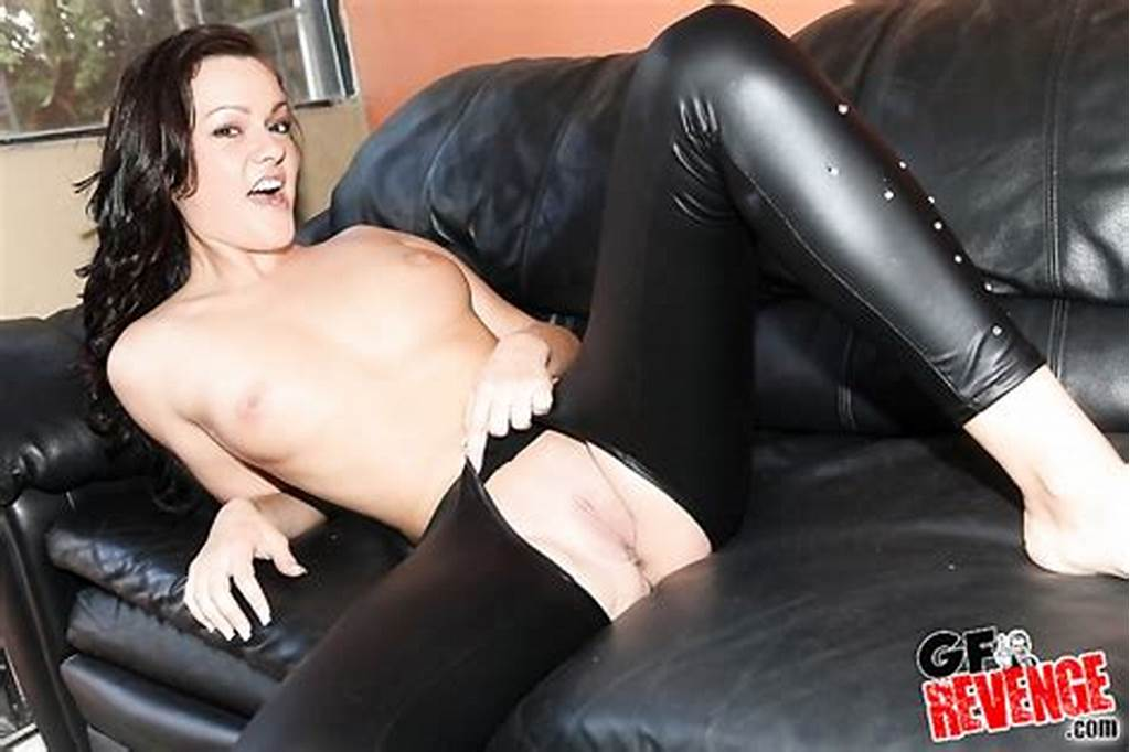 #Sexy #18Yo #Slut #In #Latex #Costume #Gets #Interracial #Fuck