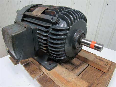 Westinghouse Electric Motor by Westinghouse Line 5hp Electric Motor 440v 3 Ph 356u