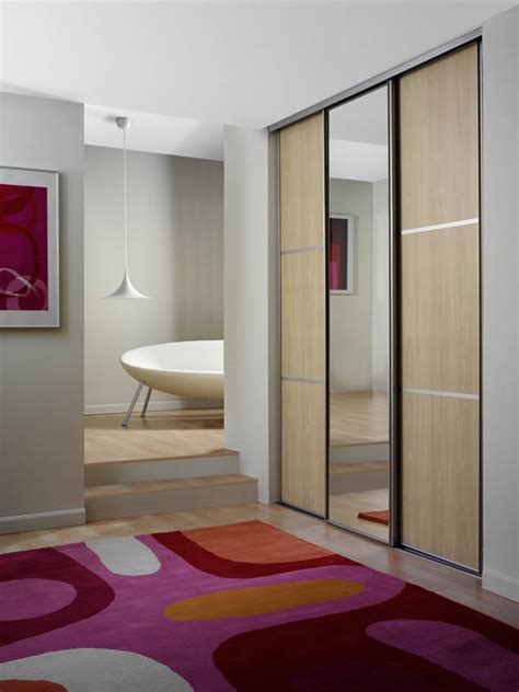 fineline solutions double sided sliding doors mirror